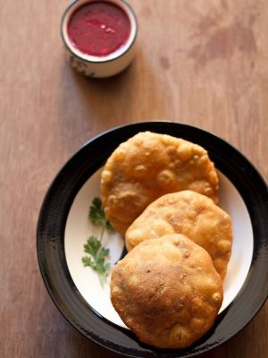 matar kachori recipe, peas kachori