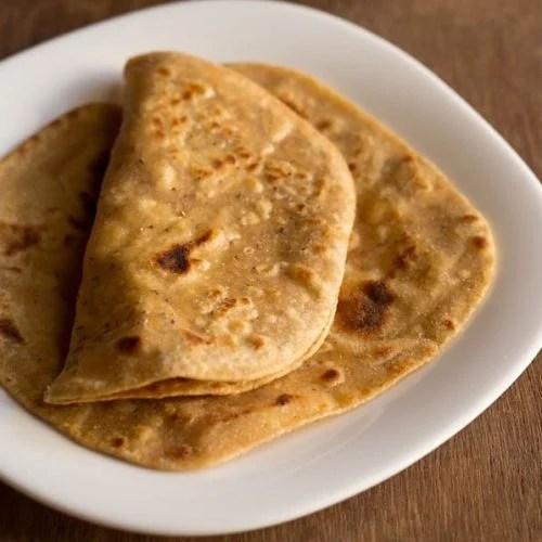 ajwain paratha recipe, punjabi ajwain ka paratha recipe