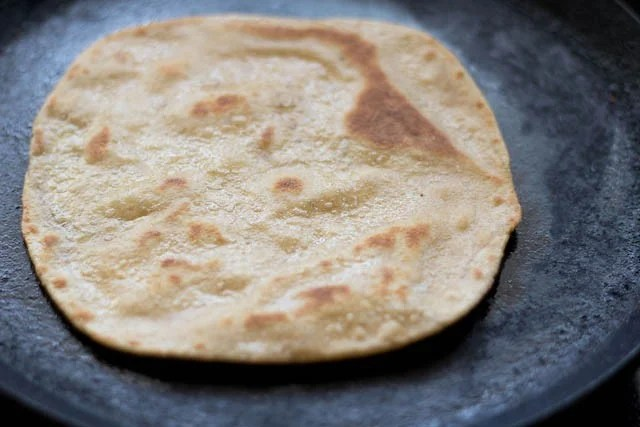 frying ajwain paratha recipe