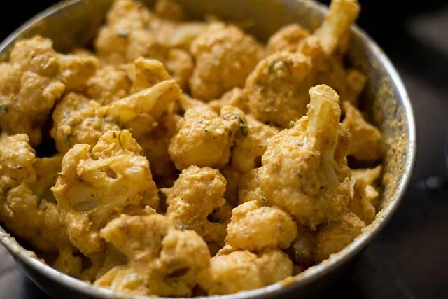 batter for tandoori gobi recipe