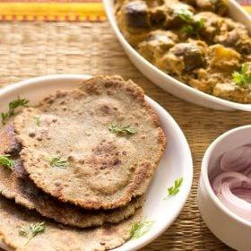 bajra roti recipe, bajra bhakri recipe