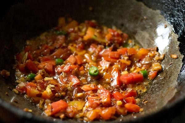 stir chana dal fry masala
