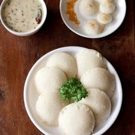 idli with idli rava recipe