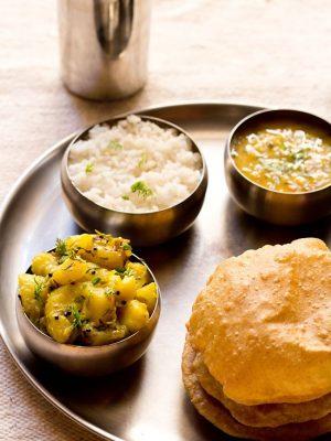 poori bhaji, poori bhaji recipe