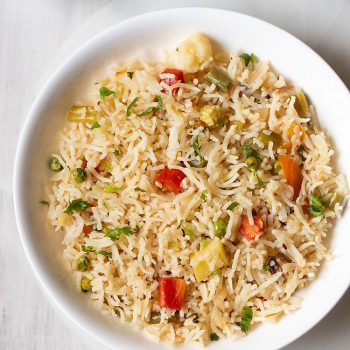 Pulao Recipe | Veg Pulao in a pot or pan