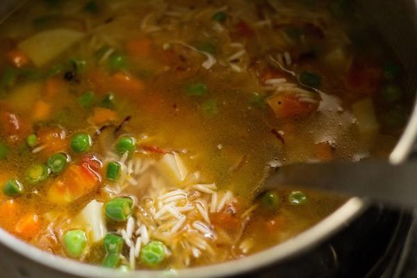 making veg pulao recipe, making pulao recipe, how to make pulao recipe