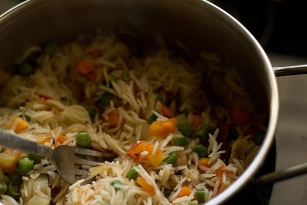 veg pulao recipe, pulao recipe