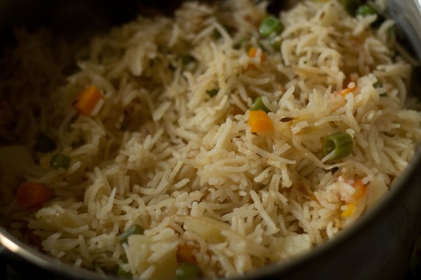vegetable pulao recipe, veg pulao recipe, pulao recipe