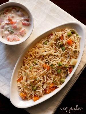 pulao recipe, veg pulao recipe, vegetable pulao recipe, veg pilaf
