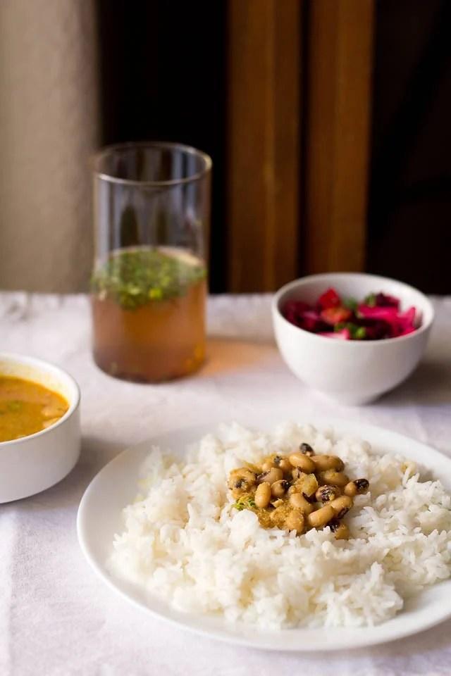 chawli usal Maharashtrian recipe