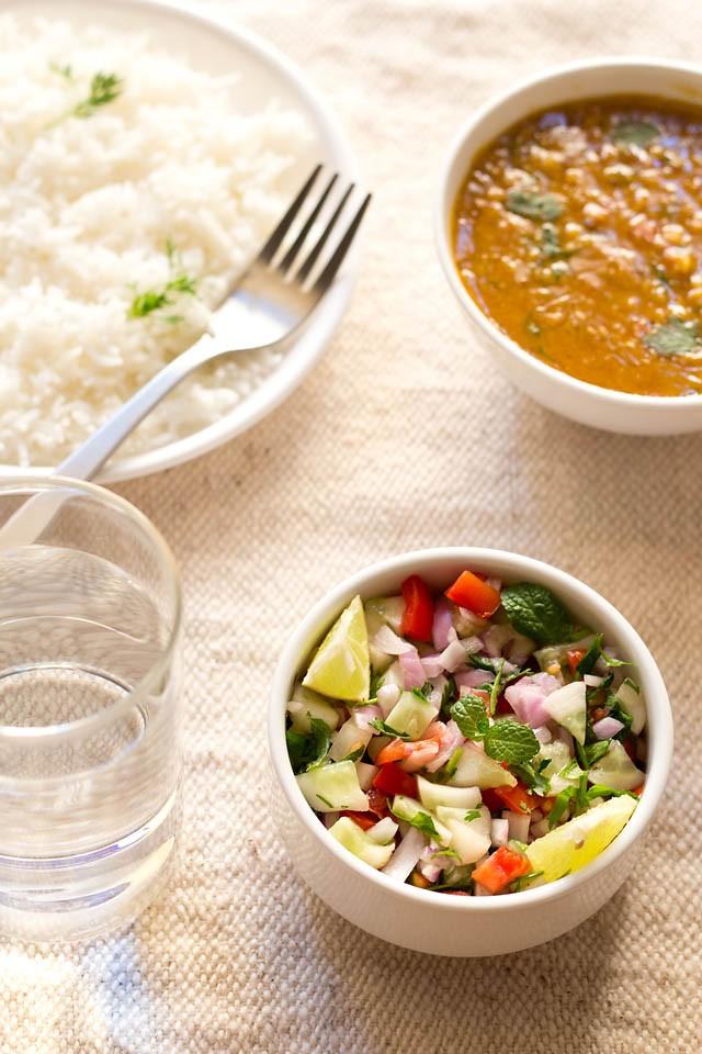 kachumber salad recipe