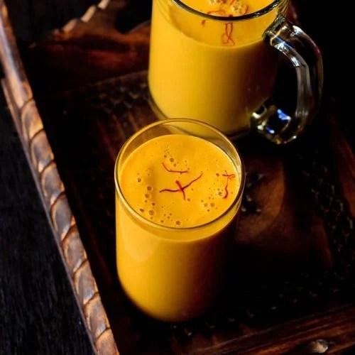 vegan mango milkshake