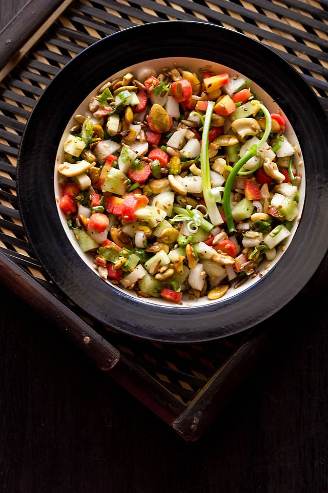 veg salad recipe