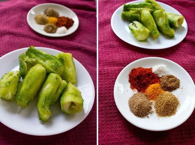 bharwan karela ingredients