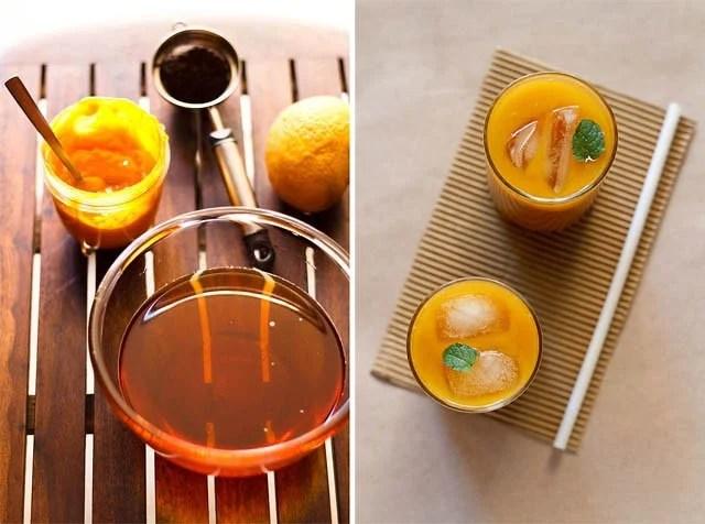 iced mango tea recipe