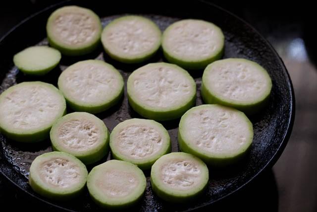 sliced lauki for lauki yakhni recipe