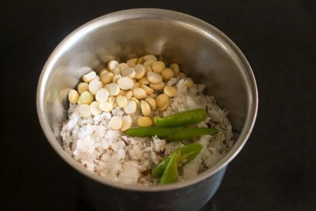 mint coconut chutney recipe