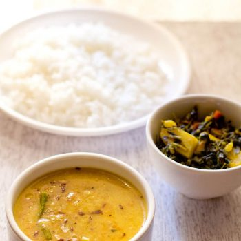 Moong Dal Tadka and Moong Dal Fry