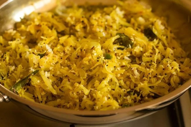 cabbage thoran recipe | cabbage fry recipe | how to make cabbage ...