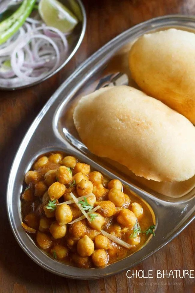 chole bhature recipe