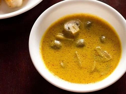 mushroom caldin recipe
