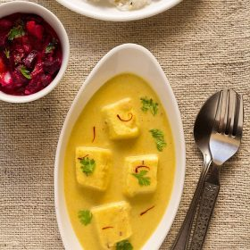 shahi paneer, shahi paneer recipe