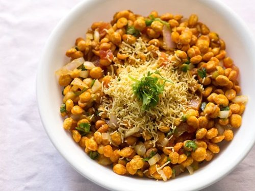 chana dal bhel puri recipe