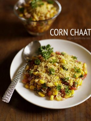 corn chaat recipe