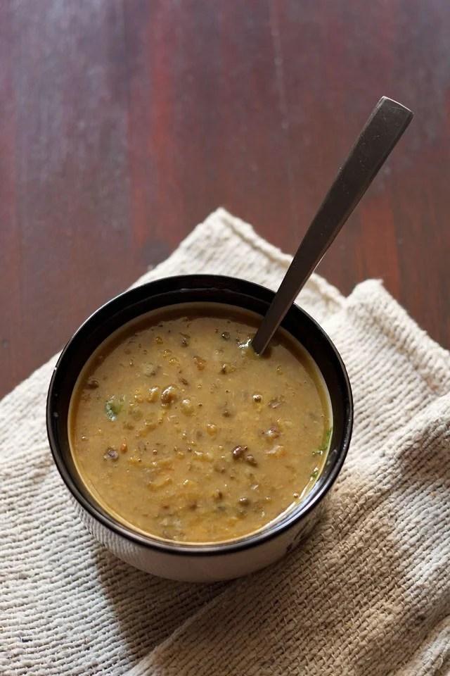 maah chole ki dal recipe, Punjabi maah choleyan di daal recipe