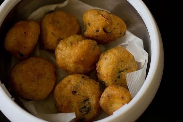 mysore bonda, mysore bajji recipe