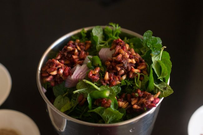 pomegranate chutney recipe
