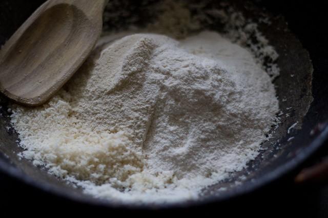 sugar for making sabudana ladoo recipe
