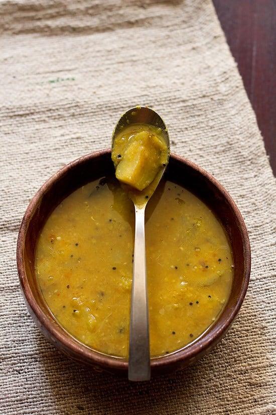 kathirikai sambar, brinjal sambar