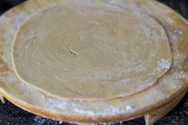 making Kerala paratha recipe