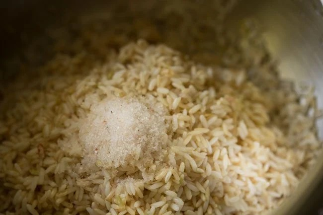 rice to make lemon rice recipe