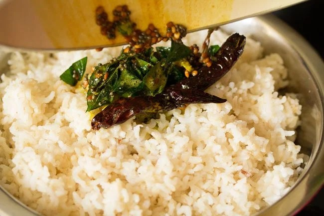 making south indian lemon rice recipe