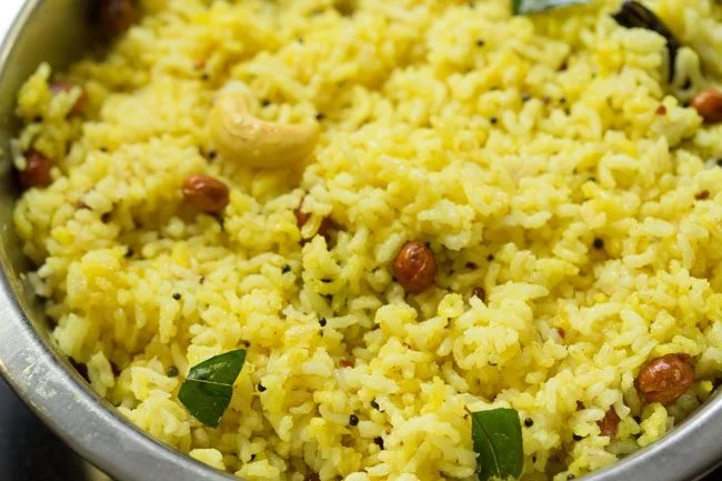 south indian lemon rice recipe