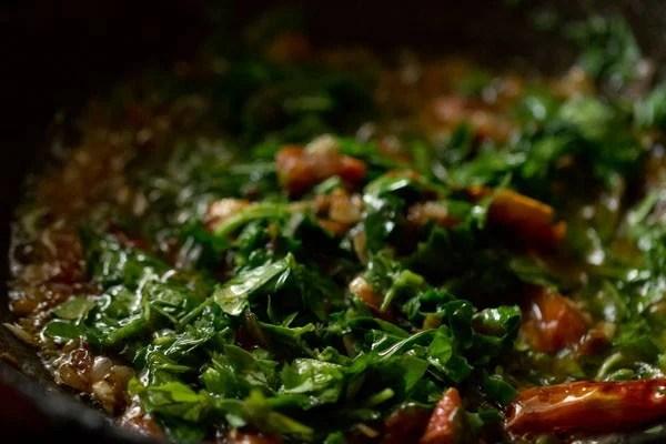 making methi dal fry recipe