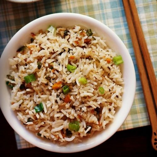 fried rice recipe, veg fried rice recipe
