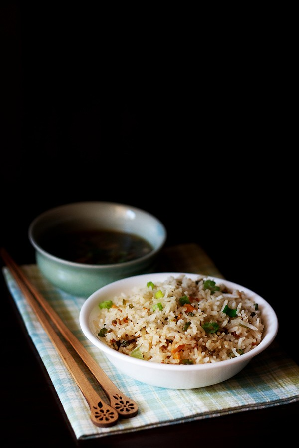 veg fried rice, fried rice