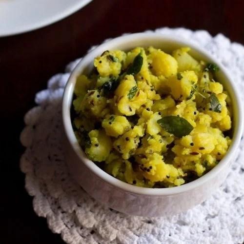 batata bhaji recipe, aloo sabzi recipe