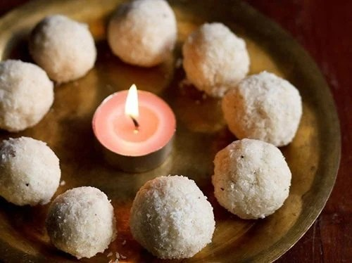 coconut ladoos recipe