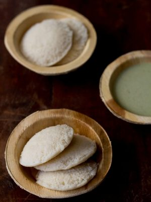 cooked rice idli