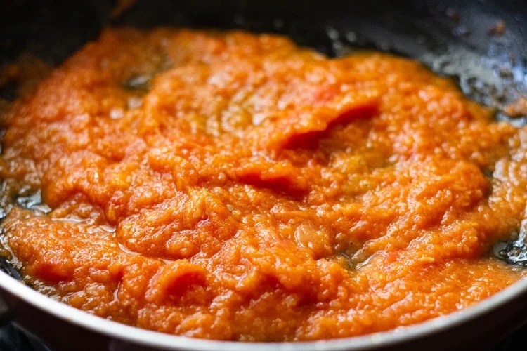 tomato puree added
