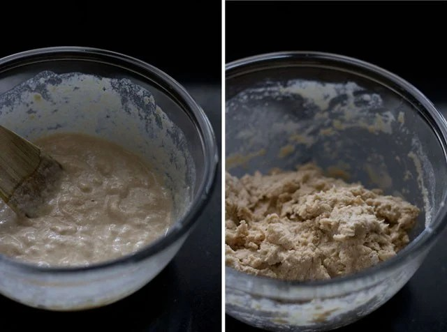 yeast mixture for paneer tikka pizza recipe