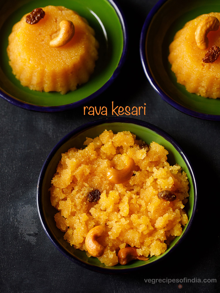 rava kesari bath recipe