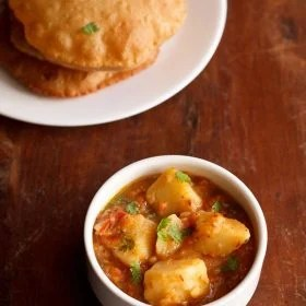aloo tamatar sabzi for navratri fasting