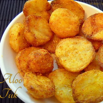 aloo tuk for navrati fasting