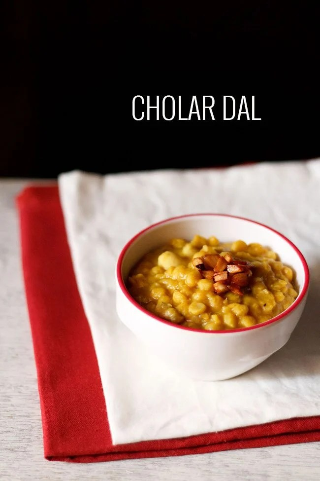 cholar dal recipe