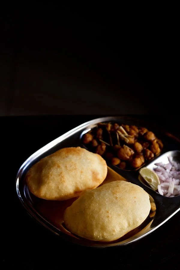 no yeast bhatura (easy and quick)